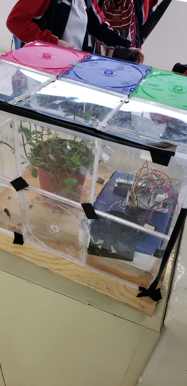 Greenhouse with Sensors